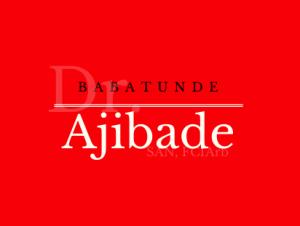 Ajibade logo red
