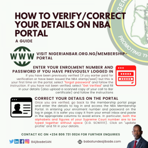 HOW TO GET VERIFIED ON THE NBA PORTAL